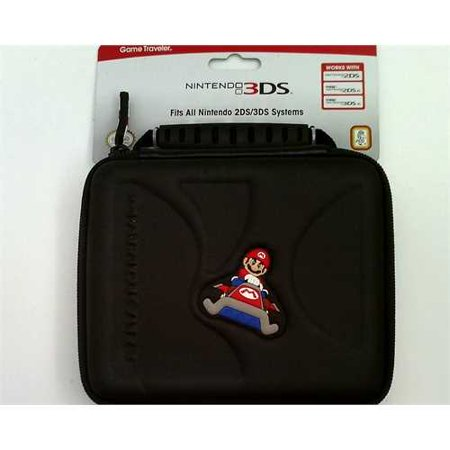 Nintendo 2DS/2DSXL/3DSXL Game Traveler Mario Kart - black