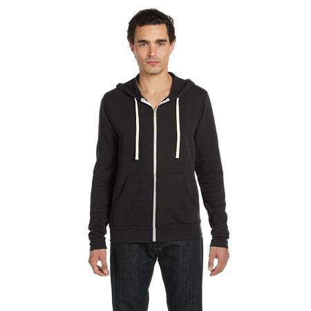 Canvas Hoody Sweatshirt 3909 Unisex 8.2oz Triblend Fleece Full-Zip All Over Logo Hoody