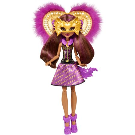 Monster High Ghoul to Wolf Clawdeen Wolf Transformation Doll - Ever After High Cerise Wolf