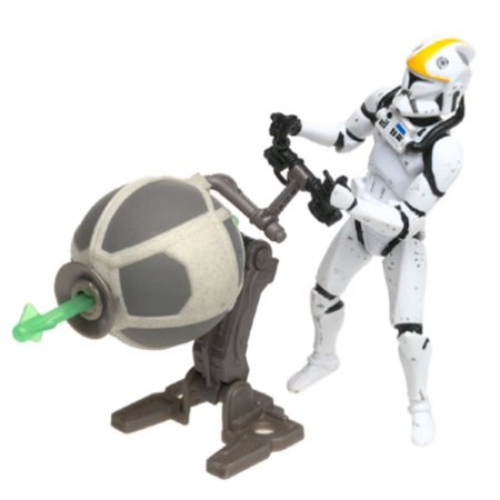 Clone Trooper Republic Gunship Pilot Star Wars Attack of the Clones 3.75