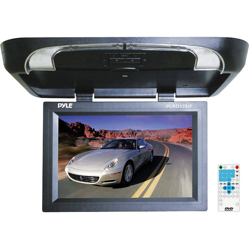 "Pyle 17"" Flip-Down DVD/SD/USB Player, PLRD175IF"
