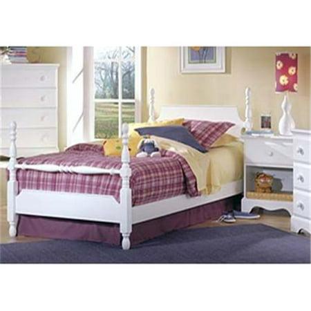Carolina Furniture Works 417233 Footboard - Poster 3-3 - White ()