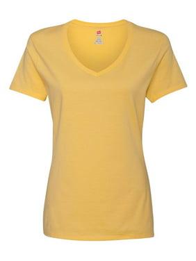 Hanes T-Shirts Nano-T Women's V-Neck T-Shirt
