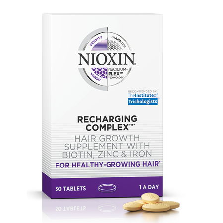 Human Growth Complex Side Effects - NIOXIN Recharging Complex Hair Growth Supplements (30 tablets)