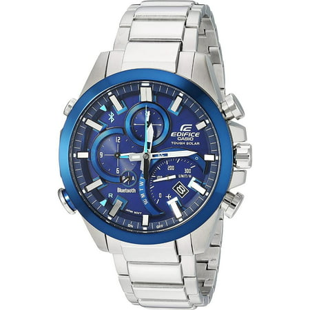 Casio Edifice EQB-501DB-2A Smartphone Link Watch (Stainless Steel)