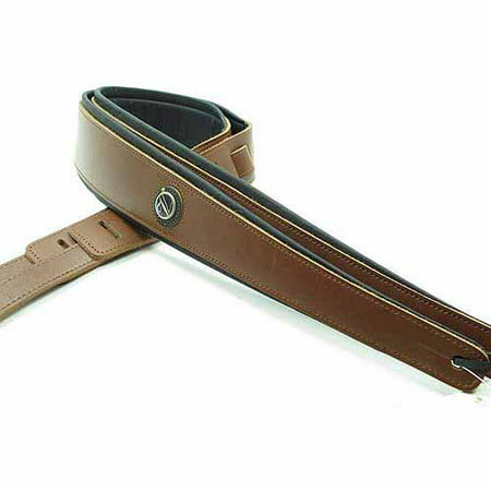 Brown Deluxe Board - Vorson Deluxe Padded Leather Guitar Strap