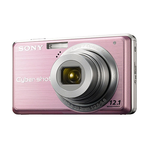 Sony Cybershot DSC-S980 12MP Digital Camera with 4x Optical Zoom with Super Steady Shot Image Stabilization (Pink)