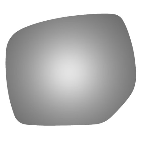 For 14-18 SUBARU FORESTER Left Driver Side Snap Fit Flat Mirror Glass Power (Subaru Forester Driver Mirror)