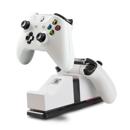 PowerA Dual Charging Station for Xbox One - White