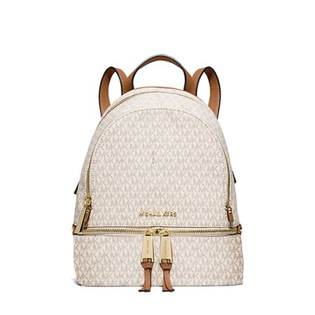 0ae8c51b583fe ... Studded Backpack MICHAEL Michael Kors Rhea Signature Extra Small  Backpack (VanillaAcorn) ...