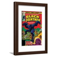 Marvel Comics Retro Style Guide: Black Panther Framed Print Wall Art