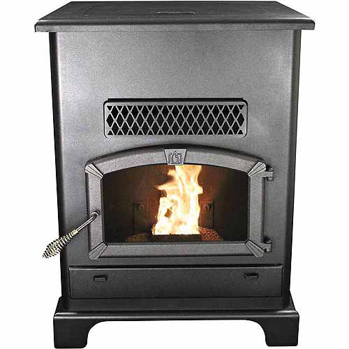 US Stove 2,200 Sq. Ft Pellet Heater with Ash Pan by United States Stove Company
