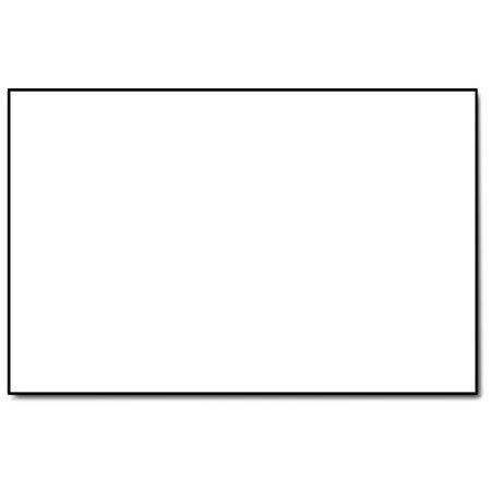"5 1/2"" x 8 1/2"" Half Letter Size White Paper 20lb - 500 Sheets"