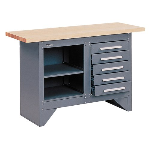 Kennedy 54 in. Industrial Work Bench - Wood