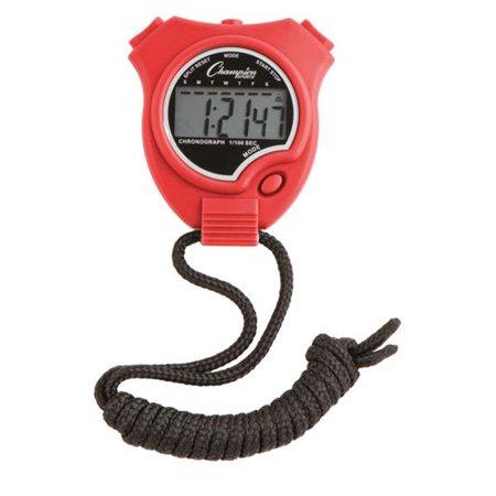Stop Watch, Scarlet Multi Gemstone Watch