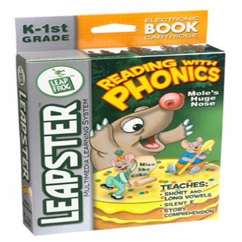 LeapFrog Leapster Educational Game: Reading with Phonics by LeapFrog Enterprises, Inc.