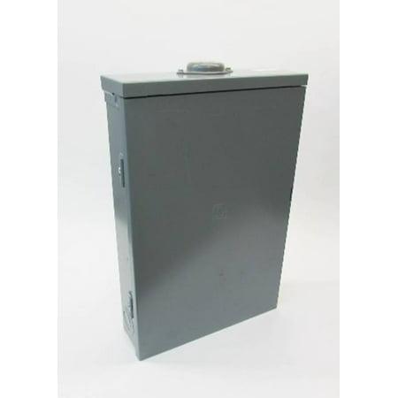 NEW Square D 125A QO 1PH Main Lug Load Center Breaker Panel Enclosure 3R 125 (Square D 100 Amp Outdoor Load Center)