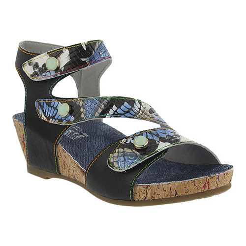 Women's L'Artiste by Spring Step Adeline Strappy Wedge Sandal by