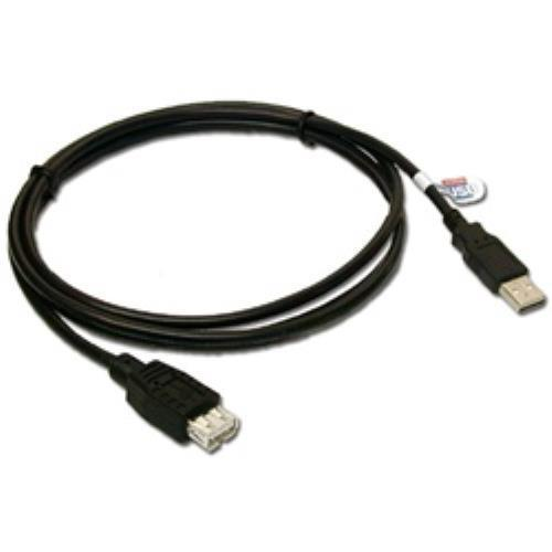 QVS USB 2.0 Certified Extension Cable - 10ft. 2Pack