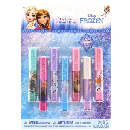 Disney Frozen 7 Pack Lip Gloss
