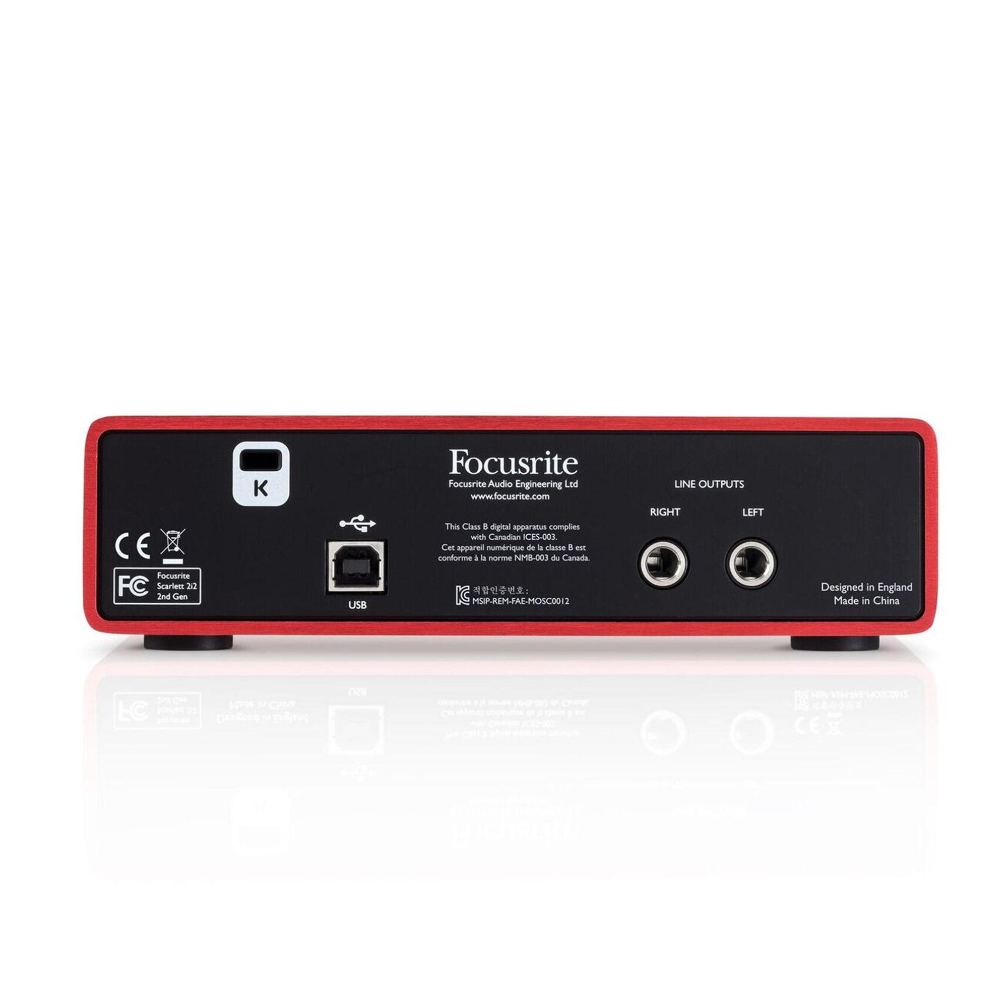 Focusrite Scarlett 2i2 USB 2.0 Audio Driver for Windows 10