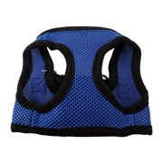 """Unique Bargains Hook Loop Netty Style Adjustable Pet Puppy Dog Harness Vest Size XS Chest Girth 11""""-12.2"""""""