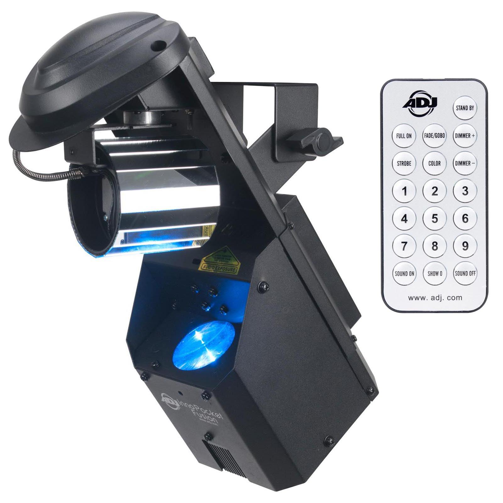 American Dj Inno Pocket Fusion Laser Light Effect + Wirel...