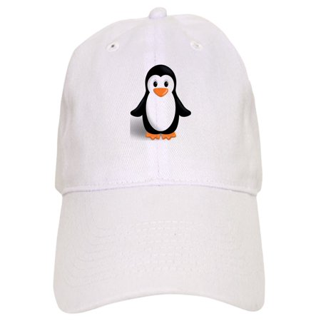 CafePress - Penguin - Printed Adjustable Baseball Cap