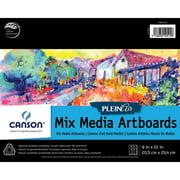 Canson - Plein Air Mix Media Artboard Pad - 12 x 16