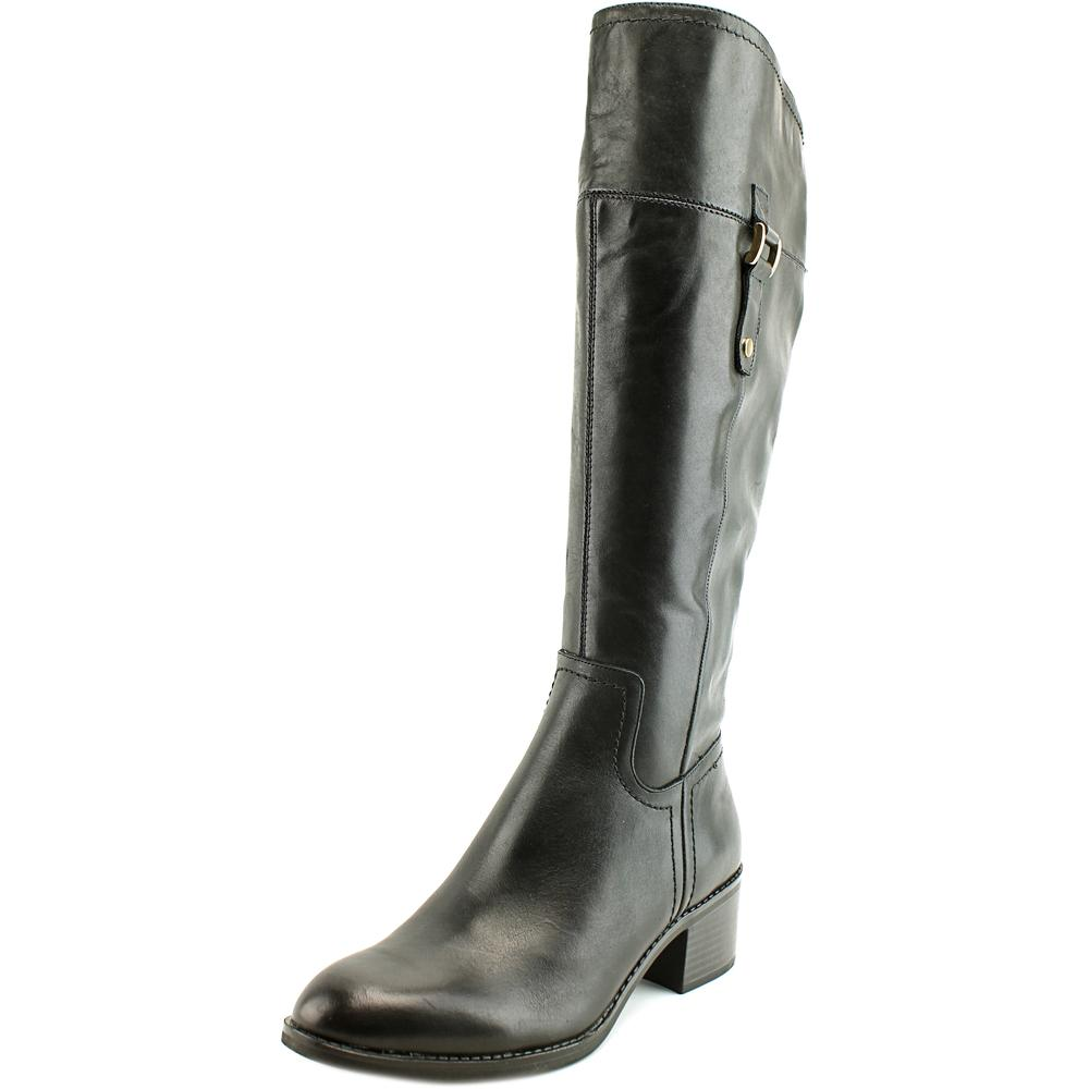 Franco Sarto Chilled Wide Calf Round Toe Leather Knee High Boot by Franco Sarto