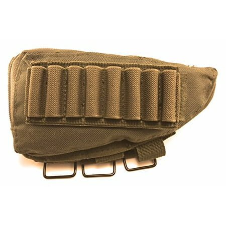 Acme Approved Rifle Buttstock Cheek Rest Ammo Pouch - OD Green thumbnail