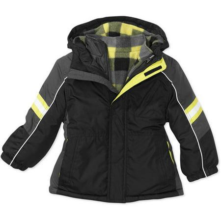17aece8cf2c4 Faded Glory - Baby Boys  4-in-1 Systems Jacket - Walmart.com