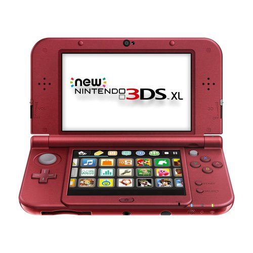 New Nintendo 3DS XL Handheld, Red