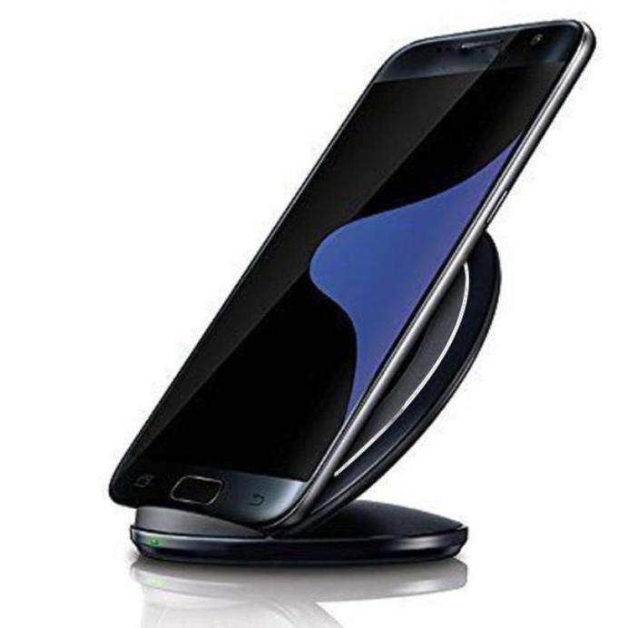 Wireless Charging Stand Qi Fast Charger Dock for Samsung Galaxy S8 / S8 Plus / Note 8/ Note 5/ S7 / S7 Edge / S6 / iPhone 8