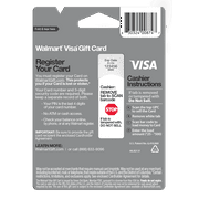 Visa Giftcard Wmt Variable Ed Gc Happy Birthday Image 2 Of