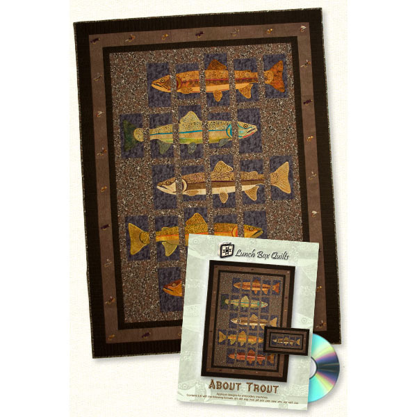 Artistic Lunch Box Quilt Designs - About Trout Quilt