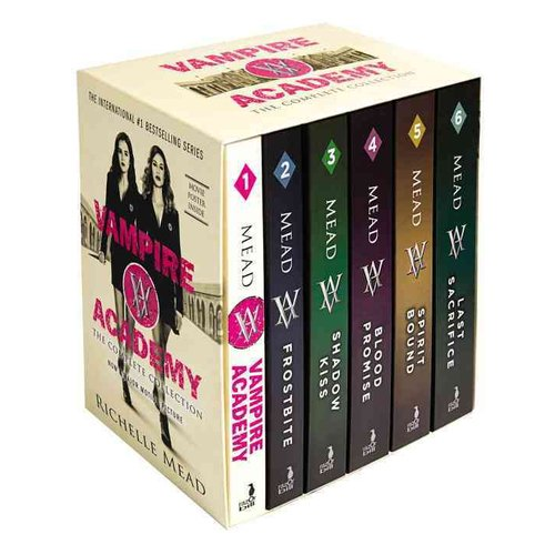 Vampire Academy The Complete Collection: Vampire Academy, Frostbite, Shadow Kiss, Blood Promise, Spirit Bound, Last Sacrifice