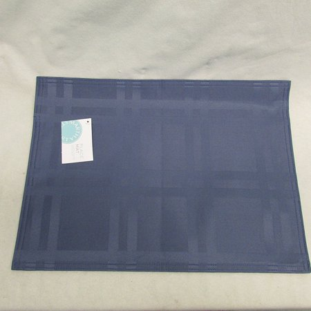 Martha Stewart Table Linens Placemat (Navy) (Halloween Food Recipes Martha Stewart)