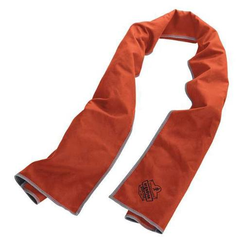 CHILL-ITS 6602MF Cooling Towel,Org,40-7/8inL x 9-3/4inW G0459131