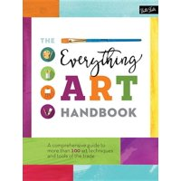 Complete Book of ...: The Everything Art Handbook (Hardcover)