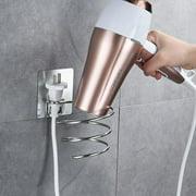 Wall Mounted Hair Dryer Storage Organizer Rack Holder Hanger In Bathroom Drier Hair Dryer Rack