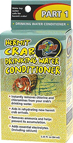 Hermit Crab Drinking Water Conditioner, Helps rehydrate Ship from US..., By Zoo Med by