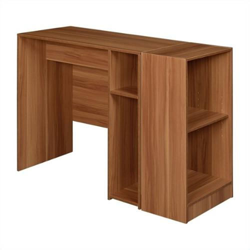 Regency Niche Desk with 2 shelf Bookcase, Multiple Colors