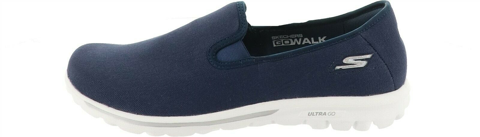 Skechers GOwalk Canvas Slip-On Shoes