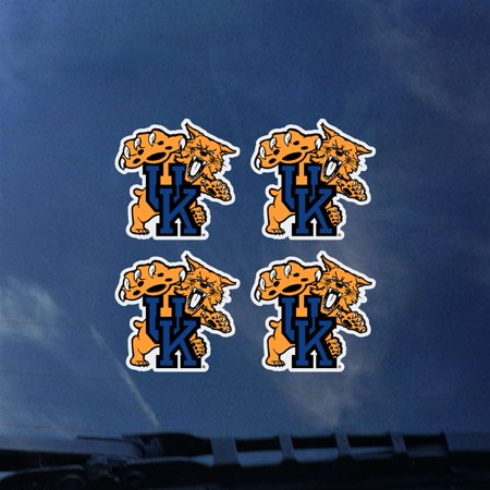 Wildcats Four (Kentucky Wildcats Transfer Decals - Set of 4 )