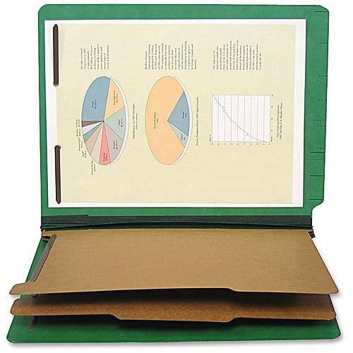 SJ Paper Six Section Classification Folders