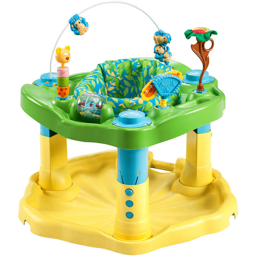 Evenflo ExerSaucer Delux Active Learning Center, Zoo Friends