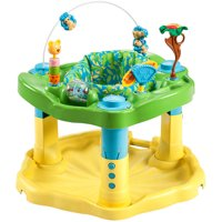 Deals on Evenflo ExerSaucer Delux Active Learning Center, Zoo Friends