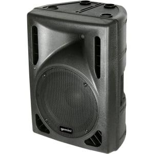 15-in 2-way high power active PA speaker w/1200W peak  300W RMS Class D lightweight amplifier