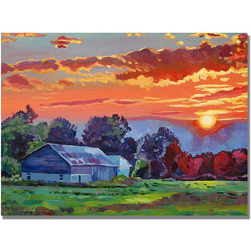 "David Lloyd Glover ""The Sun Sets Over The Hill"""